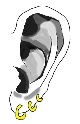 【耳編】種類ありすぎ…ピアスの種類・名前・痛さを分かりやすいようにまとめてみた